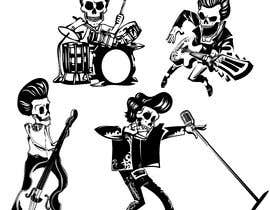 #3 for Logo needed - skeleton band by haryono99