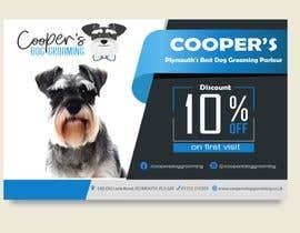 #8 для A5 Dog Grooming Flyer от ashswa