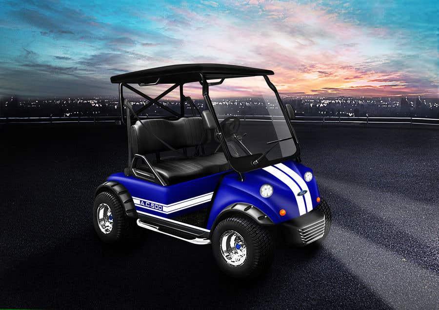 Inscrição nº 3 do Concurso para Photoshop attractive LED headlights onto golf cart