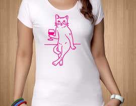 #38 для Redesign cat on T-shirt от sumsul2
