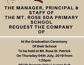 Číslo 9 pro uživatele Graduation Invitation od uživatele ummishazira