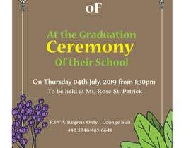 Číslo 3 pro uživatele Graduation Invitation od uživatele mdnasir3090