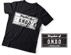 #23 untuk Vehicle Number license plate t-shirt design. oleh hasembd