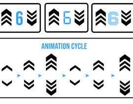 #80 untuk Design a modern position indicator for elevator oleh joygomes