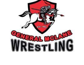 #37 untuk General McLane wrestling logo oleh AlexeCioranu