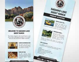 """#14 for create a """"Rack Card"""" of services provided at Saguaro Lake Guest Ranch by moslehu13"""