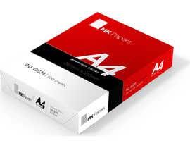 #5 for A4 paper ream and box design af ranjan06