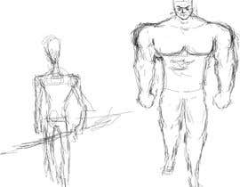 marwanugb tarafından I need you to sketch 5 game characters, one warrior, one assassin, one mage, one ranged (gun or bow), one tank/ support. The art style is similar to the two files i attached, you can choose one style, and draw accordingly, please dont mix the styles için no 1