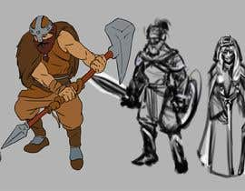 paezmiguel569 tarafından I need you to sketch 5 game characters, one warrior, one assassin, one mage, one ranged (gun or bow), one tank/ support. The art style is similar to the two files i attached, you can choose one style, and draw accordingly, please dont mix the styles için no 2