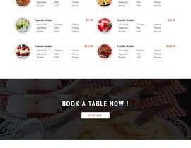 #55 untuk Restaurant Website Design oleh tresitem