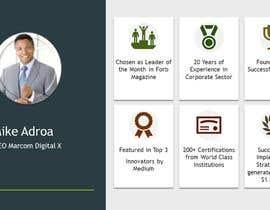 #9 cho One Powerpoint Slide ; My Self Introduction, Theme: corporate yet creative bởi Sadi381