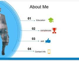 #21 cho One Powerpoint Slide ; My Self Introduction, Theme: corporate yet creative bởi rusi4833
