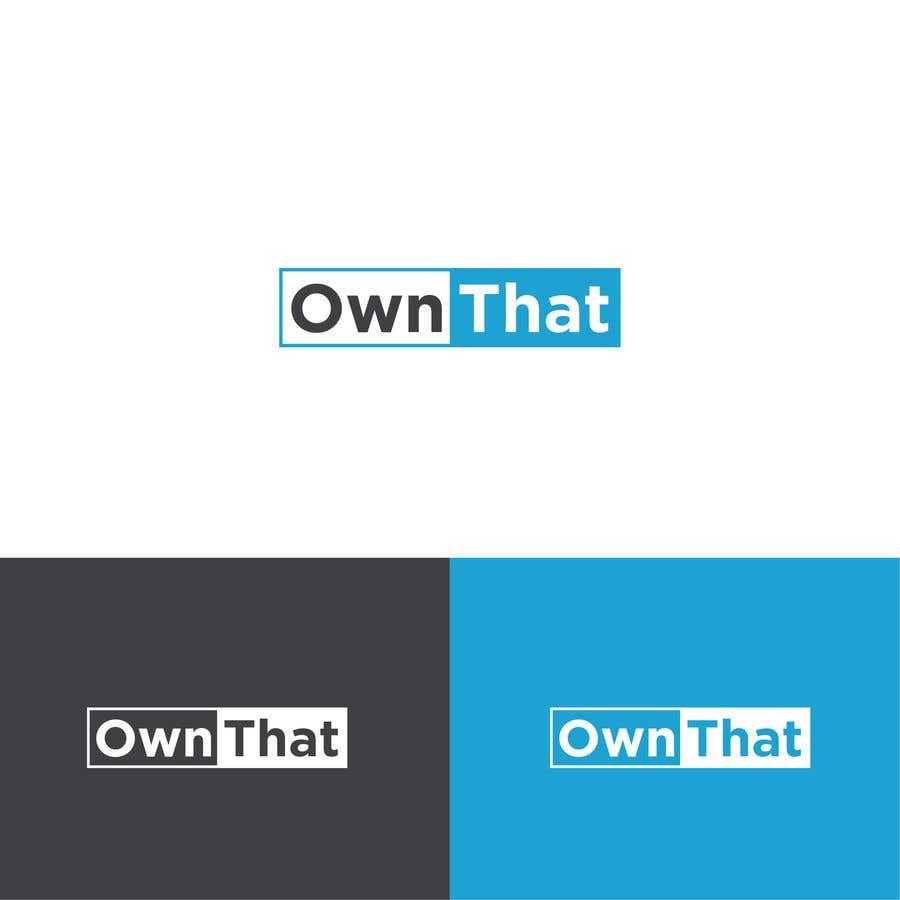 Конкурсная заявка №151 для Create a logo for on-line business www.OwnThat.com. Creative ideas wanted!