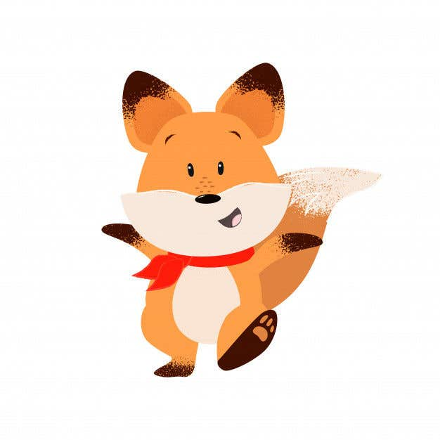 Kilpailutyö #8 kilpailussa I need an animation for my Fox. He needs to be cute, fun. Good for a children's invite.