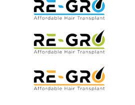 #44 for Re-Gro  Hair Transplant LOGO by aqibzahir06