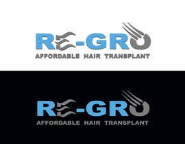 #47 for Re-Gro  Hair Transplant LOGO by Wooddoost