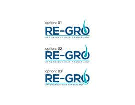 #35 for Re-Gro  Hair Transplant LOGO by taslimab526