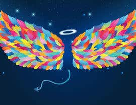 #21 for ILLUSTRATION: WALL MURAL OF WINGS by parulgupta549