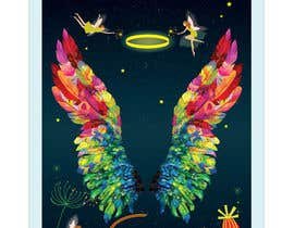 #31 for ILLUSTRATION: WALL MURAL OF WINGS by kaushalyasenavi