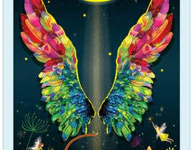 #37 for ILLUSTRATION: WALL MURAL OF WINGS by kaushalyasenavi