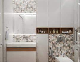 #21 para Design a bathroom Layout/ rendering de na4028070