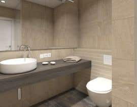 #41 for Design a bathroom Layout/ rendering af Pinogervic