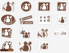 #39 for Design Simple Sticker Image like stickermule by Shuvomonisha