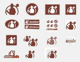#24 for Design Simple Sticker Image like stickermule by naimnilger