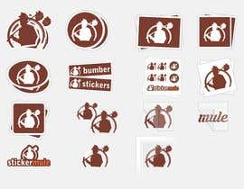 #25 for Design Simple Sticker Image like stickermule by naimnilger