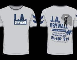 #9 untuk T shirt for a DRY WALL COMPANY oleh mdriponislam0000