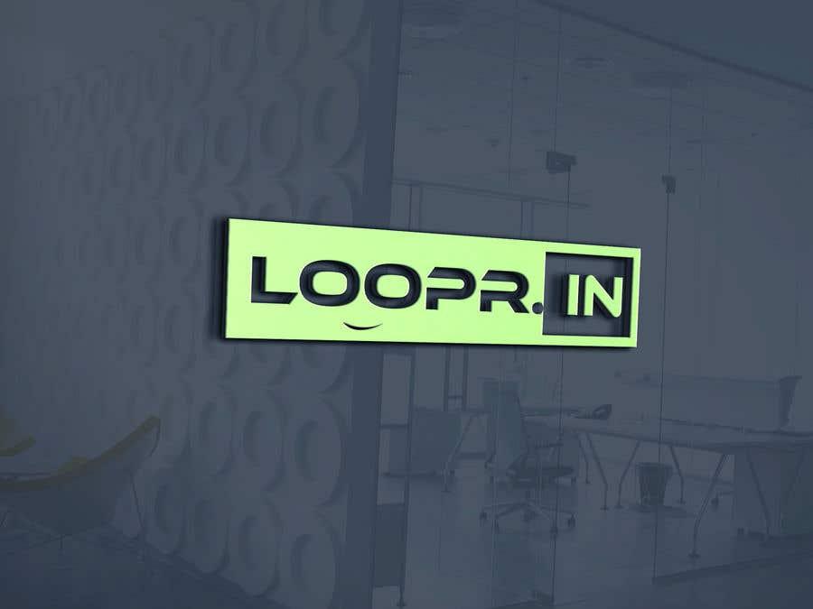 Konkurrenceindlæg #35 for Epic Logo Design for loopr.in