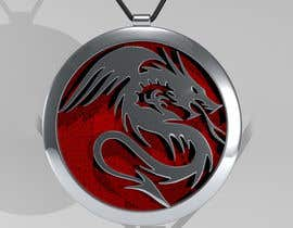 #40 cho Stainless Steel Jewelry Designs - Dragon Oil Diffuser Locket bởi johnche11
