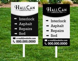 #16 for Need small lawn sign designed for landscaping af ConceptGRAPHIC