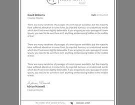 #58 for Clean up / letterhead redesign af babykhatun1012