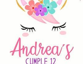 Nro 24 kilpailuun ANDREA´S #12 BIRTHDAY käyttäjältä marianayepez