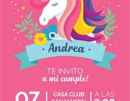 Nro 35 kilpailuun ANDREA´S #12 BIRTHDAY käyttäjältä marianafreigeiro