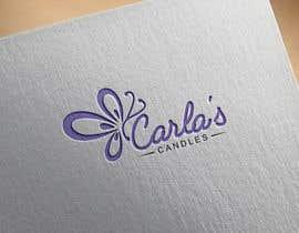 "Nahin29 tarafından Design a logo for ""Carla's Candles""' için no 111"