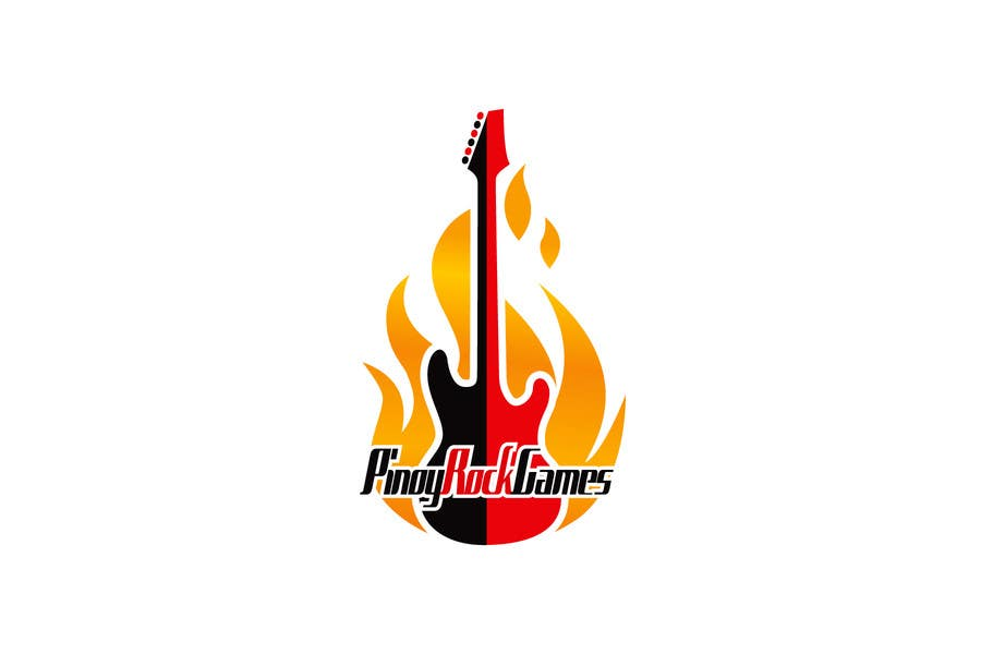 Contest Entry #37 for Logo Design for Pinoy Rock Games