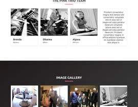 jahedul31 tarafından Update young female jazz band website (pinktrio.com) to look more professional için no 29