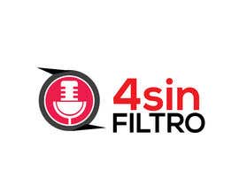 "#36 для A logo for Radio Show/Program ""4 sin filtro"" от alamin216443"