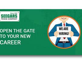#151 for Hiring Banner by dgrmehedihasan