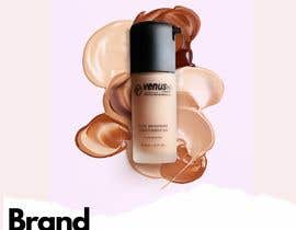 AngiePavlov tarafından Advertisement design for makeup foundation bottle için no 4
