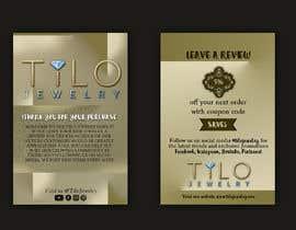 #40 untuk Tilo Jewelry 4x6 flyer oleh ofarah22