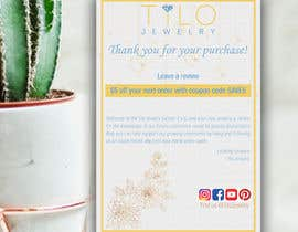 #31 untuk Tilo Jewelry 4x6 flyer oleh Mitchell29