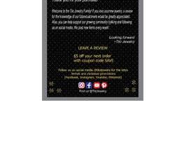 #28 untuk Tilo Jewelry 4x6 flyer oleh razzaks56