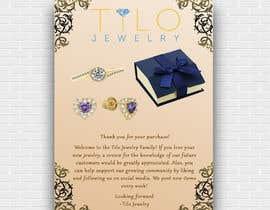 #37 untuk Tilo Jewelry 4x6 flyer oleh shah14940