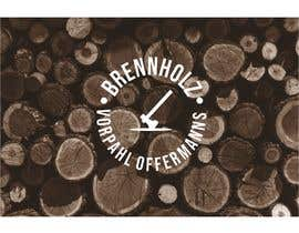 #170 para Firewood company searching for logo design por vectorowelove