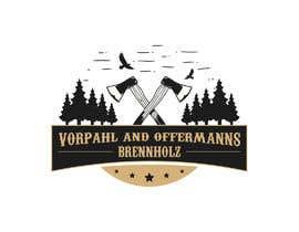 #8 para Firewood company searching for logo design por ZakTheSurfer