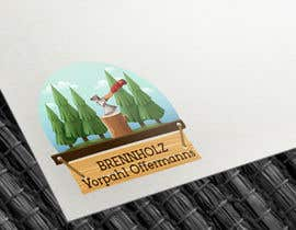 #174 untuk Firewood company searching for logo design oleh Codeitsmarts