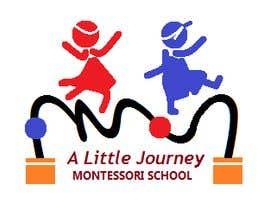 """#41 untuk """"A Little Journey Montessori School"""" Logo oleh dahranik"""